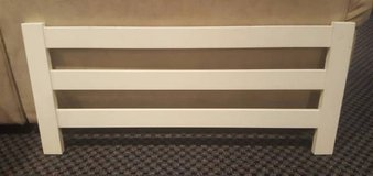 Pottery Barn Kids (PBK) White Wooden Bed Rail in Naperville, Illinois