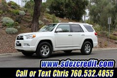 2010 Toyota 4Runner SR5 -3rd Row Seat White in Camp Pendleton, California