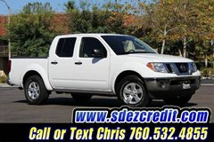 2011 Nissan Frontier Crew Cab  White in Camp Pendleton, California