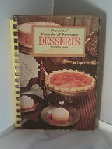 Vintage 1969 Desserts Parents' Parade Of Recipes 2000 Recipes From Elementary School Parents in Morris, Illinois