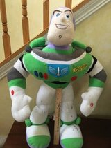 27 inch TOY STORY BUZZ LIGHT YEAR STUFFED MUSICAL FIGURE in Batavia, Illinois