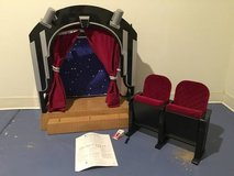 American Girl Molly&Stage, Screen Theatre and chairs in Orland Park, Illinois