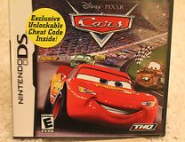 Cars Video Game from Disney PIXAR(nintendo ds, 2006) in Bolingbrook, Illinois