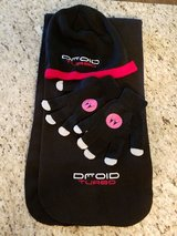 droid turbo ski cap and scarf and motorola knit gloves in Elgin, Illinois