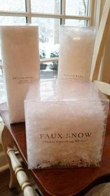 Pottery Barn Faux White Snow in Glendale Heights, Illinois