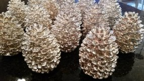 Dept. 56 Pinecones - Silver Finish - Decorative in Glendale Heights, Illinois