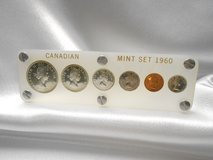 1960 canadian proof like mint set in acrylic case in Camp Lejeune, North Carolina