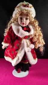 Christmas Porcelain Doll in Fort Campbell, Kentucky