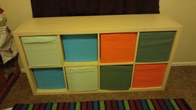 Childs toy chest with 8 removable boxes in Fort Carson, Colorado