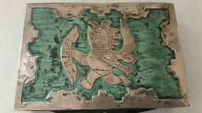 Vintage 1950's Peruvian Copper Souvenir/trinket box in Camp Pendleton, California