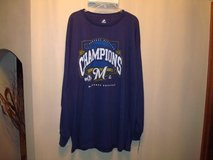 Milwaukee Brewers NL CENTRAL DIVISION CHAMPIONS 2011 Baseball L Shirt in Brookfield, Wisconsin