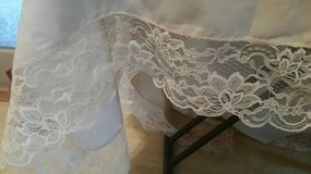 Beautiful Vintage lace table cloth in a creme color in Camp Pendleton, California