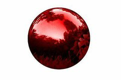 """Trademark Innovations 8"""" Stainless Steel Mirrored Gazing Balls - NEW! in Bolingbrook, Illinois"""