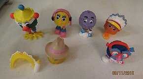 Happy Meal Toys 1989 McDonald's Fry Guys lot of 15 pcs loose in Macon, Georgia