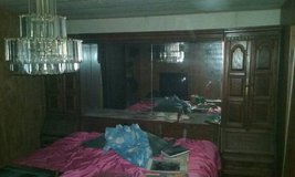 King size bed complete with HUGE headboard in Baytown, Texas