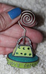 Super Shopper Purse - Desktop Metal Photo/Paper Clip, 3 Inches Tall in Aurora, Illinois
