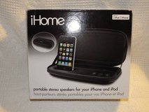 iHome portable stereo speakers for iPhone in Bartlett, Illinois