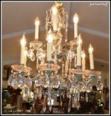 CHRYSTAL CHANDELIER ITALIAN STYLE in The Woodlands, Texas