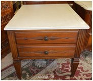 ANTIQUE NIGHT STAND WITH PAINTED TOP in The Woodlands, Texas