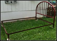 Antique Metal Bed in The Woodlands, Texas