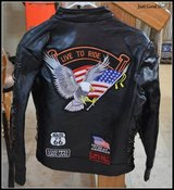 NEW BIKER JACKET LADIES WITH TAGS in The Woodlands, Texas