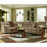 Ashley Amazon Reclining Sectional~Back in Stock!!~ Console+Cupholders in Virginia Beach, Virginia