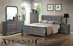 Grey 5 pc Bedroom set!! in Virginia Beach, Virginia