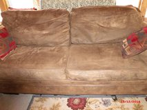 """Brown Sofa $45 """"The Back Forty"""", Adel in Moody AFB, Georgia"""