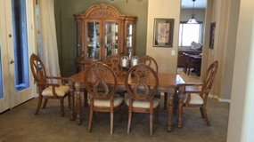 Moving Sale-Furniture (Dining room set, couch, chair, reclining sofa in Phoenix, Arizona