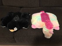 Pillow Pets Dream Lites, Penguin and Unicorn, Like New, Mint!!! in Yorkville, Illinois