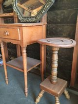 Antique wood furniture in Yucca Valley, California