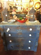 Vintage Stenciled Dresser in Temecula, California