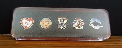 Ty Beanie Baby Set of 5 Pins Splash Patriot Clubby Official Club Ty in Chicago, Illinois