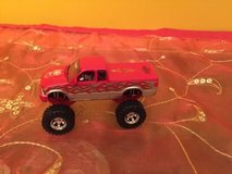 1 badd ride 1/64th sc truckin red chevy s-10 4x4 with flames in Morris, Illinois