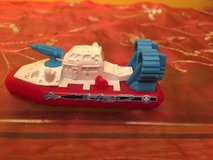 Vintage 2000 mattel matchbox hovercraft mbx coast guard toy boat vessel car COLLECTIBLE in Morris, Illinois