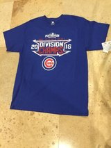 Chicago Cubs men  t-shirt  large 2016   BRAND NEW in Naperville, Illinois