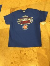 Chicago Cubs men mlb team wear  t-shirt  xl 2016  division champions in Morris, Illinois