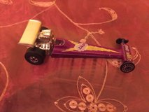 Vintage Hot Wheels redline zap cool one dragster die-cast car 1975, purple  COLLECTIBLE in Bolingbrook, Illinois