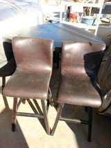 Bar Table with 2 barstool chairs and bench in 29 Palms, California
