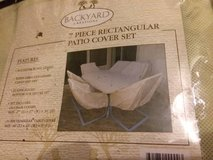 NEW IN BOX Backyard creations 7 piece patio cover set in Lockport, Illinois