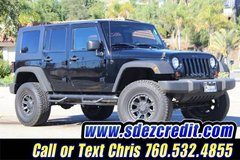 2008 Jeep Wrangler Unlimited X Black in Oceanside, California