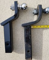 "lot of two (2) 2"" draw bars with 2"" stainless balls in Bartlett, Illinois"