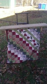 Barn wood quilt rack in Fort Knox, Kentucky