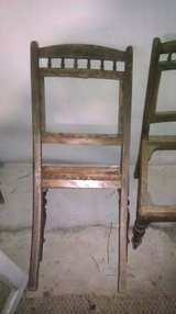 2 antique wooden chairs in Fort Knox, Kentucky