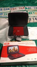 red RCA portable DVD player in Fort Knox, Kentucky