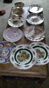 10 collectible vintage antique plates bowl in Roseville, California