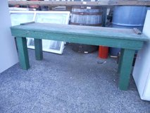 Rustic Green TV Stand in Elgin, Illinois