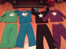 4-sets girls sweatpants size 5T in Clarksville, Tennessee