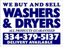 CASH 4 WASHERS DRYERS STOVES FRIDGES FREEZERS ACs in Fort Rucker, Alabama