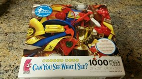 Can You See What I See new unwrapped puzzle in Vista, California